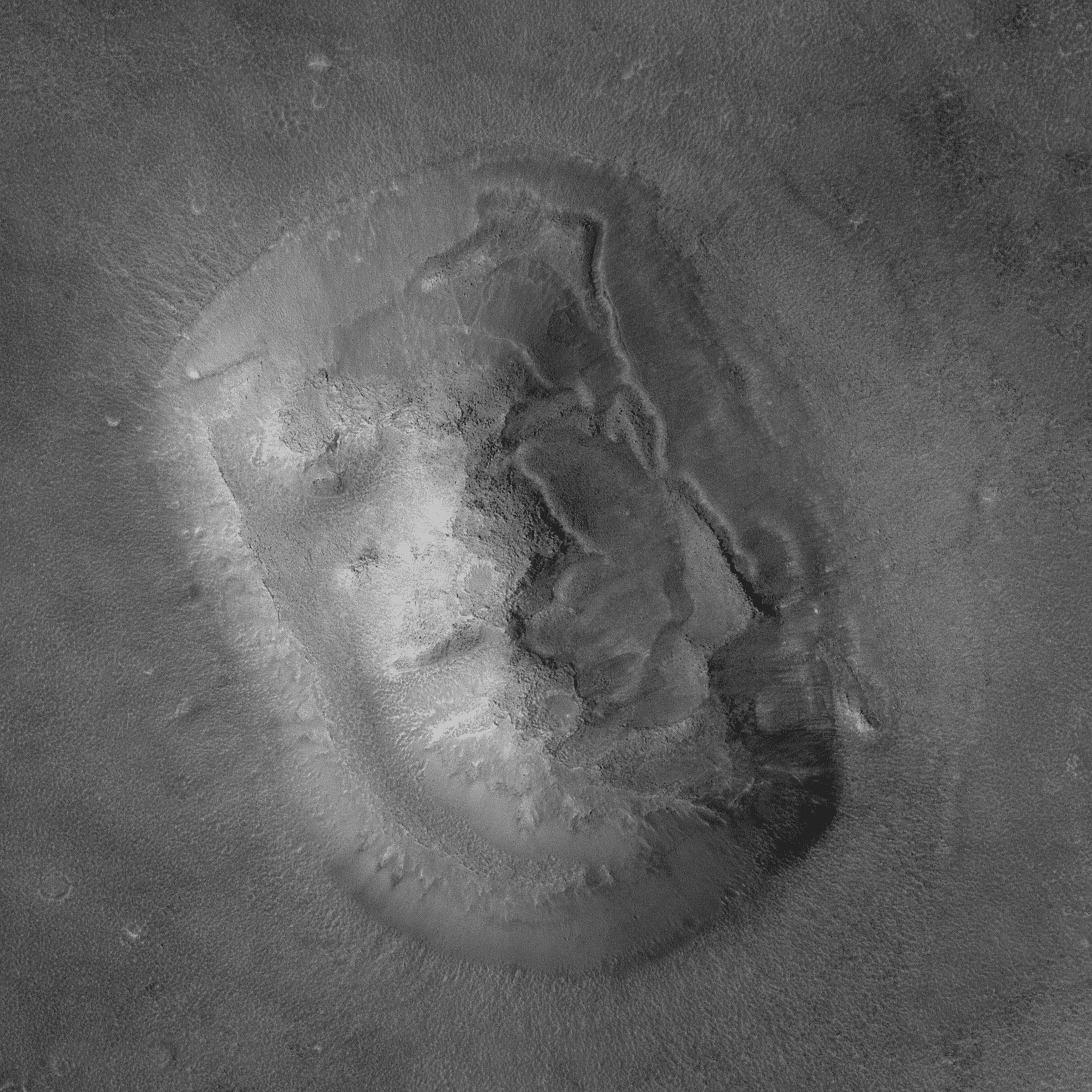 火星人面像
