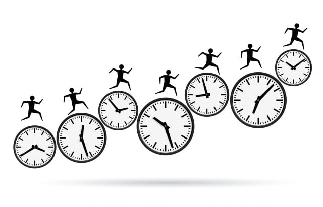 多线程矢量特性的时间