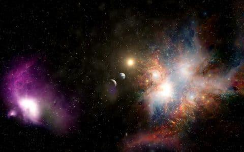 广袤的宇宙空间