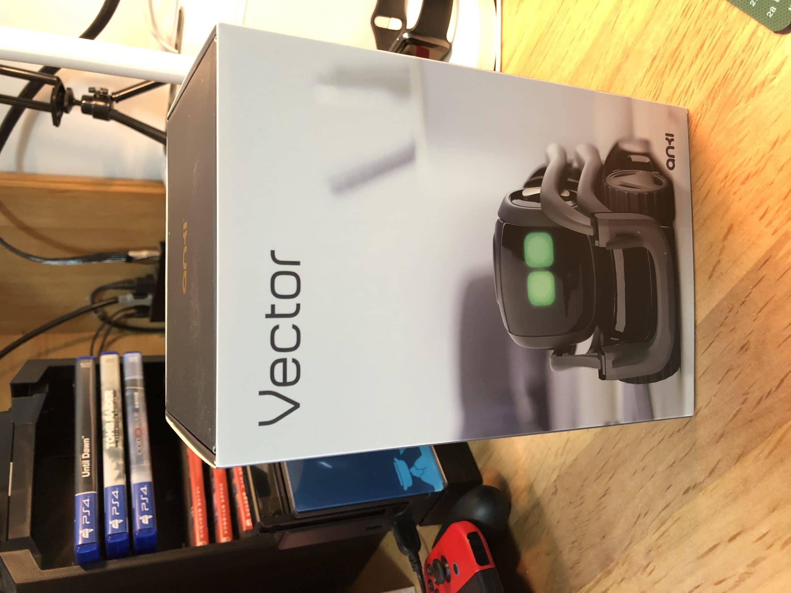 vector机器人开箱与简单测评
